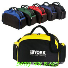 Sports Two-Tone Overnight Travel Bag for Men Sh-1306