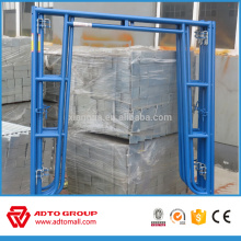 Hecho en China marco de acero pre galvanizado de alta calidad Walk-thru