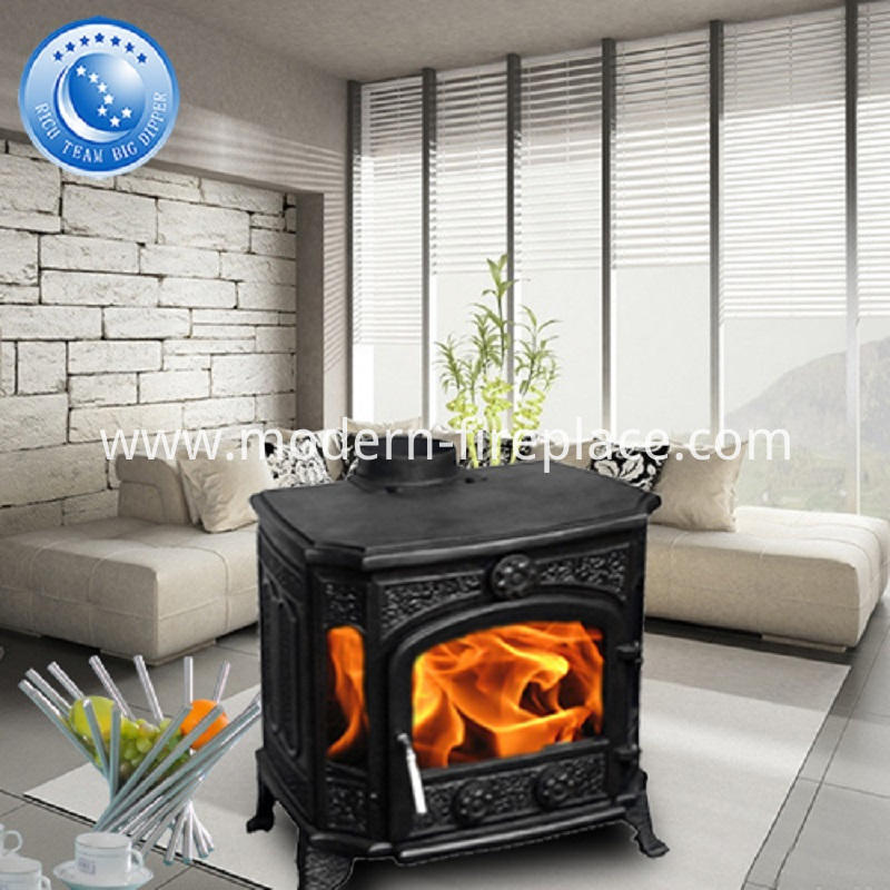 90kg 8KW  Best Cast Iron Wood Stoves
