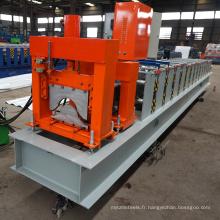 La maison en acier de la Chine / tuile de toit / toit supérieur faisant le rouleau froid de tuile de faîtage de machin roulent la machine formant la machine