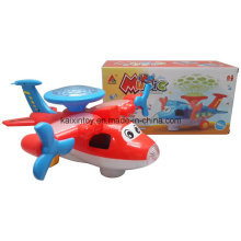 Battery Operated Plane Toys with Light and Music