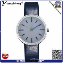 Yxl-537 2016 Men Fashion Custom Logo Watches Wholesale, Watch Genuine Leather, Watch Men Leatherw Watch