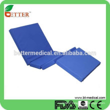 used PU waterproof fabric hospital bed mattress