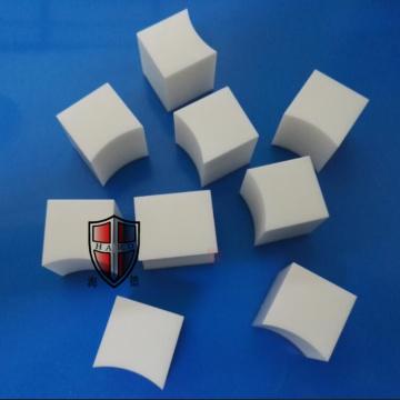 low thermal conductivity zirconia ceramic block customized