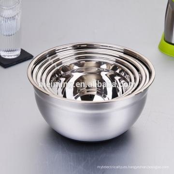 Cuenco de mezcla 2017 del acero inoxidable de la venta caliente, tazón de fuente con la tapa