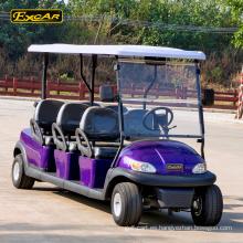 48V 6 plazas carrito de golf eléctrico coche del club carro de buggy de golf carro de la batería buggy coche eléctrico