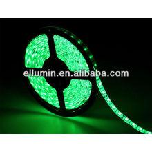 bom preço verde 4.8 w / m 5 m dc12v 3528 flexível levou luz de tira
