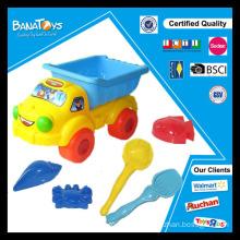 Brinquedo plástico da praia da areia para crianças - Brinquedo do carro do bebê