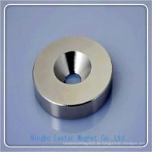 NdFeB Magnet mit Nickel/Epoxy Beschichtung Cup