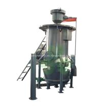 Planta de gasificación de gas de carbón con sistema de control automático.