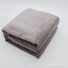 Super Soft Hotel Polar Fleece/Coral Fleece Throw Blanket