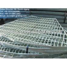 steel grid platform