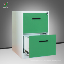 Armário de armazenamento por atacado do arquivo da gaveta da mobília de escritório KD 2