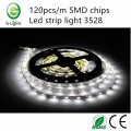120pcs / m SMD chip led strip light 3528