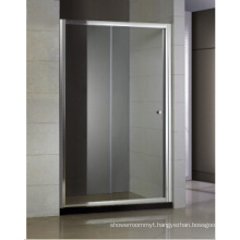 Sliding Shower Door One Fixed and One Movable