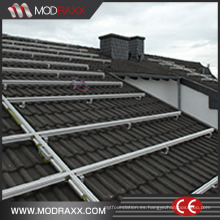 Kits de montaje de panel solar de tierra de perfil de aluminio (XL183)
