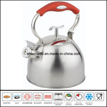 Color Wire Steel Handle Whistle Kettle Kitchenware