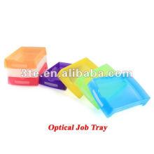 Bandeja de trabajo óptica de plástico