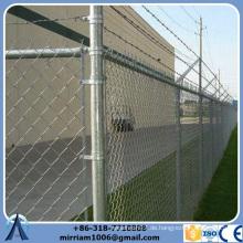 Hot-Selling High Quality Low Price Epoxy beschichtet Gefängnis Kette Link Zaun für Spielplatz