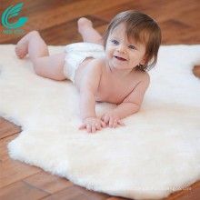 luxury australian lambswool sheepskin baby mat rug