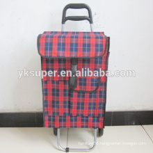 2015 promotion Foldable Shopping Trolley Bag with wheels/Shopping trolley bag