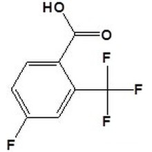 4-Fluoro-2- (trifluoromethyl) Benzoic Acidcas No. 141179-72-8