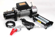 9500lb Electric Self Recovery Winch for Jeep Truck Trailer