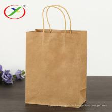 Kraftpapier-Einkaufstüten für den Supermarkt