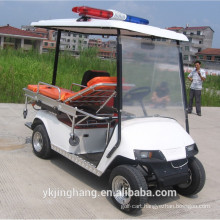 4kw powerful rescue ambulance golf cart vehicle with wholesale price/good price ambulance car for hospital