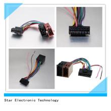 Precio de fábrica 16 pin arnés de cable auto del conector del coche ISO