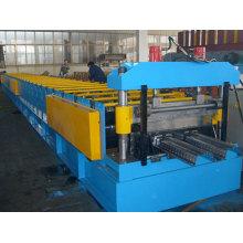 Máquina formadora de rollos de piso de metal para garaje