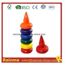 Prendedor 3D Finger Crayon 7PCS para crianças