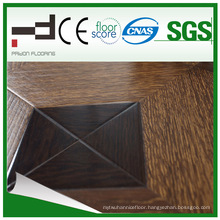 12mm Art Paste-up Classical U Mould HDF Coreboard Parquet Laminated Floor