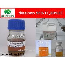 Insecticida organofosfato diazinon 95% tc, 60% ec, 50% ec -lq