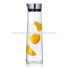Venta caliente de productos nuevos promocionales regalo de Navidad a prueba de calor jarra de cristal