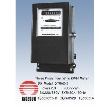 Three Phase Four Wire KWH Meters