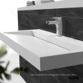 "36"" Double Corner Countertop Stone Acrylic Luxury Set Modern Single Bath Furniture Philippines Hotel Prefab Bathroom Vanity"