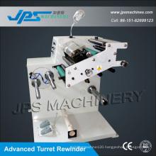 Jps-320fq-Tr PVC Tarpaulin Roll Slitter with Turret Rewinder