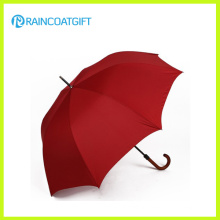 Manual Opening Big Size Golf Umbrella with Wooden Handle