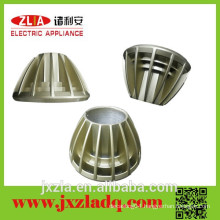 Made in China aluminum champagne color heat sink for led lights