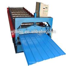 Machine de formage de feuilles de toiture en zinc dans le marché de la Chine