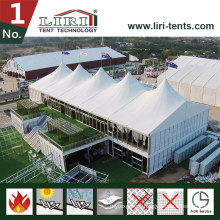 Aluminum Glass Wall Arcum Double Decker Tent for Golf Events