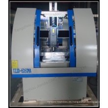 Máquina de moldeo de metal 6060 Router CNC con sistema de tope constante