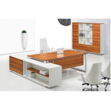 Mesa de oficina elegante movible de la manera / escritorio ejecutivo para el jefe (FOH-HPBB24)