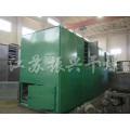 Industrieller Heißluft-Einschicht-Bandtrockner für Granulat-Werkstoffe