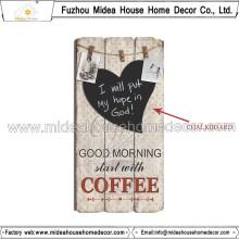 Niedrige MOQ kundenspezifische dekorative hölzerne Tafel