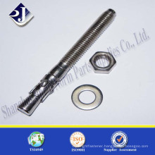 Manufacture ISO Certificated Zinc Coated Anchor Bolt With Good Service