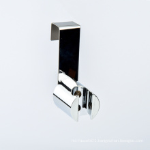 Bathroom Hanger Stainless Steel+ABS Hand Shower Bidet Sprayer Brushed Nickel Spray Gun Socket Hook Toilet Seat  cover Holder