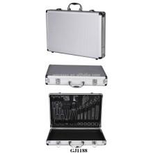 Tailles moyennes Coffret aluminium avec système de magasin d'outils à l'intérieur