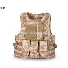 Chaleco a prueba de balas al aire libre al por mayor de la molle o chaleco táctico militar multi del bolsillo